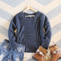 The Boyfriend Lace Sweater