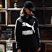 PUMA Women Fashion Hoodie Top Sweater Pullover