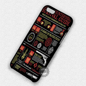 Supernatural Hunter Guide Poster - iPhone 6 5 Cases & Covers