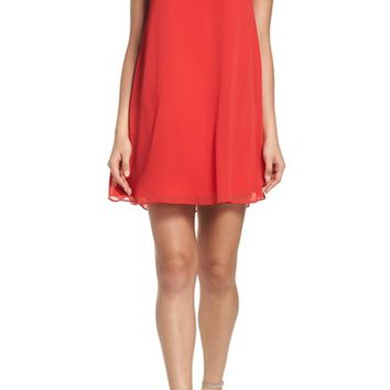 BB Dakota Hanson Trapeze Dress | Nordstrom