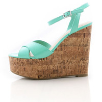 Crossroad Cork Wedges