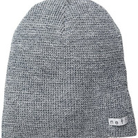 neff Men's Quill Beanie, Grey, One Size
