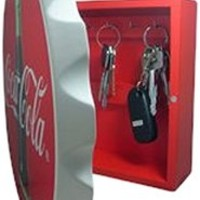Sunbelt 752203039683 Coca-Cola Coke Bottle Key Box