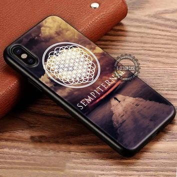 Bring Me The Horizon Sempiternal iPhone X 8 7 Plus 6s Cases Samsung Galaxy S8 Plus S7 edge NOTE 8 Covers #iphoneX #SamsungS8