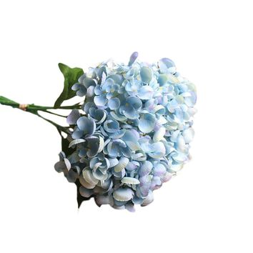 Hot Selling  Artificial Silk  Flowers Peony Floral Wedding Bouquet Bridal Hydrangea Home  Party  Decor valentines day gift