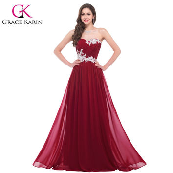 Fast Delivery Pretty Green Red Purple Pink Blue Long Bridesmaid Dress Beaded Sequins Floor Length Sweetheart Prom Dresses 6107