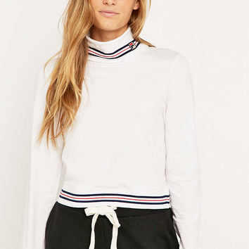 Fila Rita Crop Turtleneck Top - Urban Outfitters