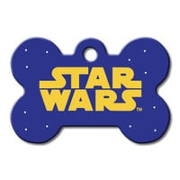 STAR WARS Bone Engravable Pet I.D. Tag