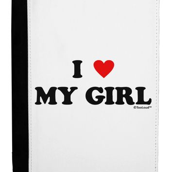 I Heart My Girl - Matching Couples Design Ipad Mini Fold Stand  Case by TooLoud