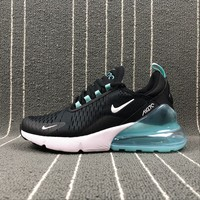 Best Online Sale Nike Air Max 270 Black Jade Noir Sport Running Shoes AH8050-013