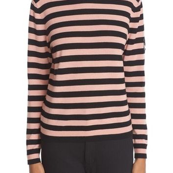 Shrimps 'Eric' Stripe Wool Crewneck Sweater | Nordstrom