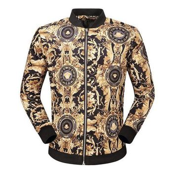 ONETOW Day-First? Boys & Men Versace Cardigan Jacket Coat