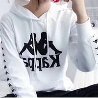 kappa  Men and women Hoodie sweater coat