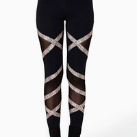 Nasty Gal All Wrapped Up Leggings