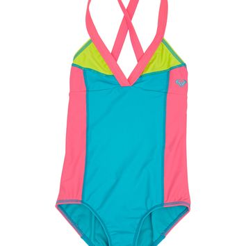 Roxy - Girls 7- 14 Heat & Surf One Piece