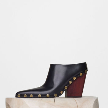 Rodeo High Mule with Studs in Calfskin