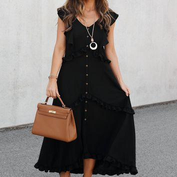 Do What You Love Dress (Black)