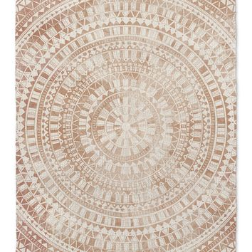 MANDALA ROSE Area Rug By Jackii Greener