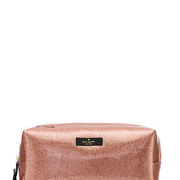 Kate Spade Terrace Street Large Davie Sparkle Rose Gold ONE