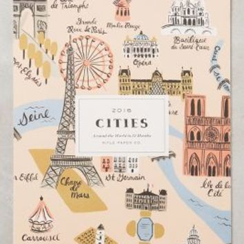 Rifle Paper Co. Cities 2016 Calendar in Pink Size: One Size House & Home