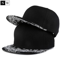 Mens Snapback Hats Famous Black Gorras Hip hop Man Snapbacks Cap For Adult