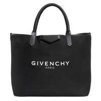 Leather Tote Bag by Givenchy