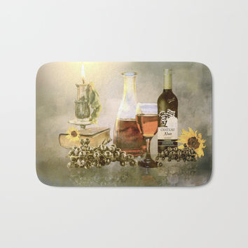 Dreams of Tuscany Bath Mat by Theresa Campbell D'August Art