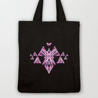 Fragments Tote Bag by Claudia Owen
