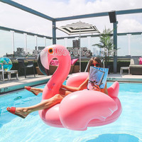 Mattress Water Gigantic Pink Flamingo Pool Inflatable Floats Pool Toys Swimming Float Adult Floats Inflatable 150cm Kickboard