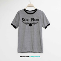 Snitch Please Shirt Harry Potter Shirt TShirt T-Shirt T Shirt Tee