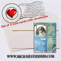 Ready, Willing & Able German Shorthaired Pointer Note Card Set