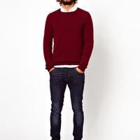 ASOS Lambswool Rich Sweater
