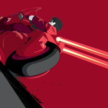 """Kaneda!"" Illuminated Variant by Craig Drake"