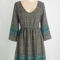 Boho Mid-length 3 Empire Enchant Hardly Wait Dress