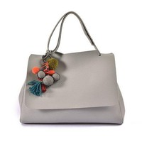 Tassel  Leather Handbags