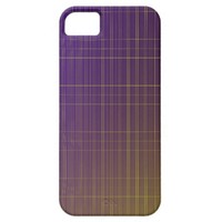 Purple to Gold Pattern iPhone SE/5/5s Case