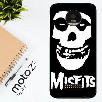 Horror Punk Rock Band Misfits Skull Z0506 Motorola Moto Z2 Play Case