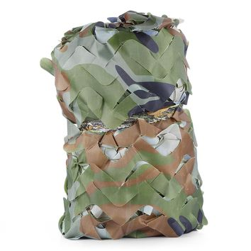Outlife 2X5M /1.5X 5M Woodland Military Car Tent Camouflage Net Hunting Camping Cover Sunshade