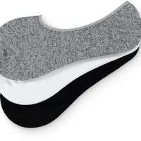 Empyre 3 Pack Speckle & Solid No Show Socks