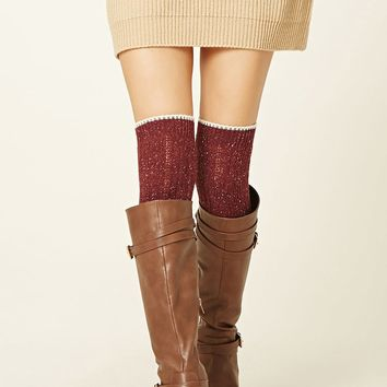 Over-The-Knee Wool-Blend Socks