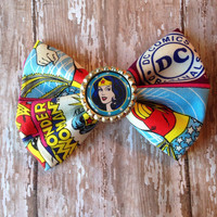 Superhero character bow perfect for photo prop or every day wear