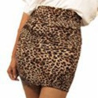 Daring leopard print skirt- Cute Trendy Skirts