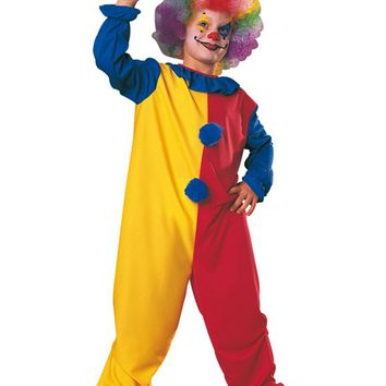MOONIGHT kids clown costumes cosplay costumes for boys halloween costumes for kids children costumes free shipping