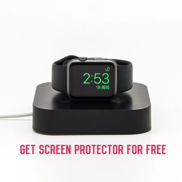 Apple Watch Charging Dock, i Watch Stand, support Nightstand mode,38/42mm models