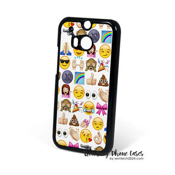 EMOJIS ARE GALS BEST FRIEND HTC One M8 Case Cover for M9 M8 One X Case