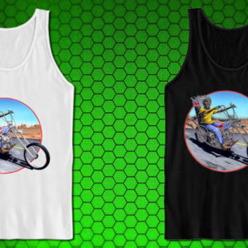 Herve Monjeaud ArtWork iron maiden for tank top mens and tank top girls