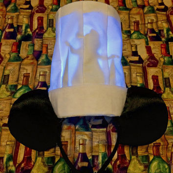 Light-Up Tiny Chef Mouse Ears Headband (batteries included)