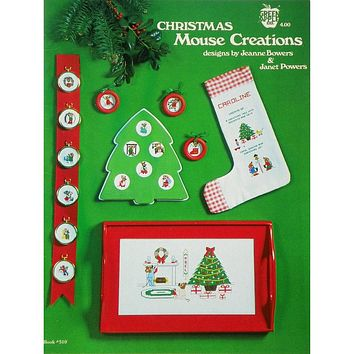 Christmas Mouse Creations - Counted Cross Stitch Leaflet