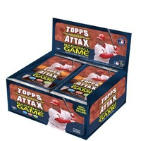 MLB 2011 Topps Attax Baseball Game Booster Pack Box