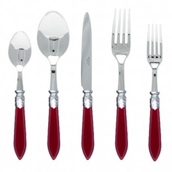 Sabre Baguette Flatware | Red